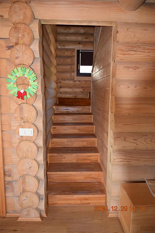 Lesena hiša Trojane